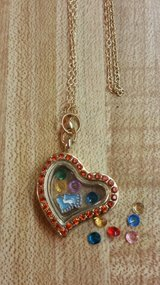 Infant Memory Floating Charm Necklace HANDMADE BY ME in Fort Benning, Georgia