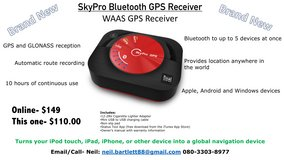 Bluetooth GPS Receiver in Okinawa, Japan
