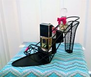 Black Metal Shoe Shaped Organizer in Lakenheath, UK