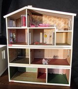 Antique 4 Floor Dollhouse with Elelectric Outlets. in Ramstein, Germany