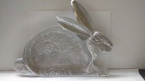 """Silver Bunny Candy Tray 10"""" x13"""" in The Woodlands, Texas"""