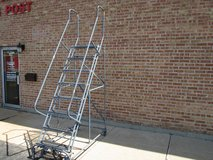 Cotterman 8 step rolling ladder, industrial/commercial use in Naperville, Illinois