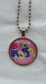Hodgepodge My Little Pony/Power Puff Girls Necklace NEW! in Fort Benning, Georgia