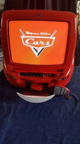 Cars (the movie) 13 inch color TV/DVD player in Bolingbrook, Illinois