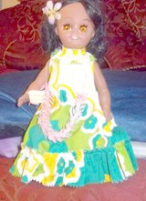 "Beautiful Hawaiian doll 12"" tall wearing muumuu in Alamogordo, New Mexico"