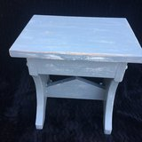 Distressed Wooden Step Stool in Camp Lejeune, North Carolina