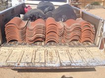 Roof tile in Yucca Valley, California