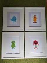Cute monster pictures for child's room in Bolingbrook, Illinois