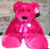 2001 Ty Valentina Bear Large Retired in Palatine, Illinois