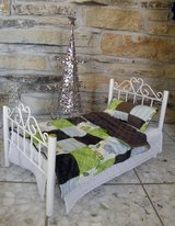 "Handmade 18"" Doll Bed Quilt for Soft Bodied dolls such as American Girl in Schaumburg, Illinois"