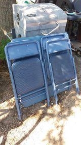 Folding table and 4 chairs in Fort Riley, Kansas