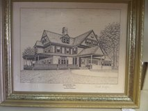 Limited edition collectible President roosevelt home in Cherry Point, North Carolina