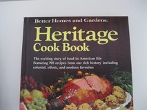 Better Homes And Garden Heritage Cook Book in Ramstein, Germany