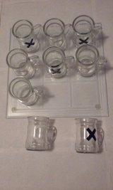 Glass Tic Tac Toe Game Adult in Elgin, Illinois