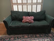 Walter E. Smithe couch & love seat w/ removable slipcovers in Naperville, Illinois