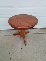 Oak / Round Occasional Table in Fort Campbell, Kentucky