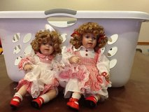 Twin dolls in Oswego, Illinois