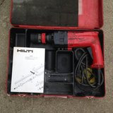 Vintage Red Hilti TM8 Rotary Hammer Drill in Glendale Heights, Illinois