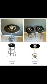 RAIDERS Bellybar Table w/ stools in Camp Pendleton, California