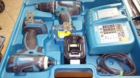 Makita 18v combo set in Yucca Valley, California