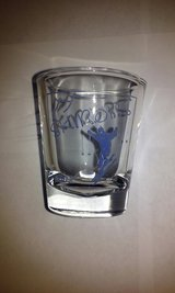 Skibobs Shot Glass 2002 in St. Charles, Illinois