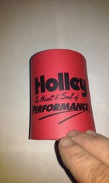 Holley Performance Beer Drink Can Coozy in Elgin, Illinois