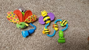 Sassy clip on stroller toys in Joliet, Illinois