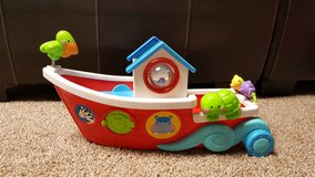Large fisher price noahs ark boat in Chicago, Illinois