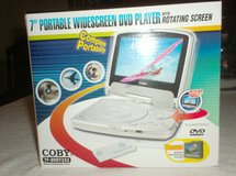 "7"" Portable Widescreen DVD Player in Naperville, Illinois"