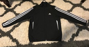 Kids Black Adidas Jacket size Small in Fort Benning, Georgia