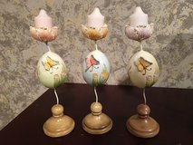 Butterfly candle holders in Aurora, Illinois