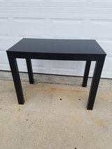 Black Contemporary Sofa Table in Fort Campbell, Kentucky