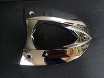 VICTORY 2006 2007 2008 JACKPOT OEM REAR SEAT SUPPORT HOLDER PLATE CHROME in Naperville, Illinois