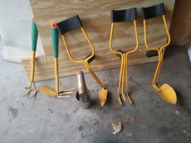 Garden tools in Plainfield, Illinois