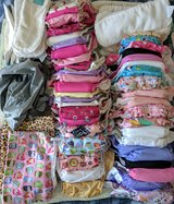 Lot of girls cloth diapers and extras in Warner Robins, Georgia