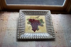 "14""  SQUARE DECORATIVE PLATE in St. Charles, Illinois"
