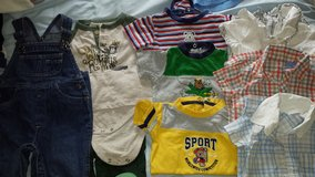 Baby boy clothes 6-9 months in Lockport, Illinois