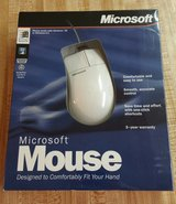 VINTAGE Microsoft Mouse for Windows 3.1 or Windows 95 NIB in Fort Benning, Georgia