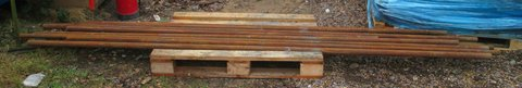 IMPERIAL BRIGHT MILD STEEL ROUND BARS. NORFOLK/SUFFOLK. VARIOUS SIZES. DELIVERY AVAILABLE. in Lakenheath, UK
