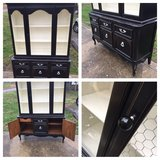 ANTIQUE BUFFET CHTCH CHINA CABINET DRESSER DISPLAY CABINET FRENCH PROV in Fort Campbell, Kentucky