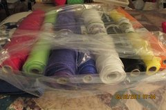 8 Rolls Of Decorative Mesh For Wreaths & Crafts - 21 Inches Wide! in Houston, Texas