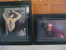 Two Pretty Lady Prints in Lockport, Illinois