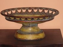 large metal pedestal bowl in Bolingbrook, Illinois