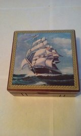 Navy Sailing Ship Men's Jewelry Box in Chicago, Illinois
