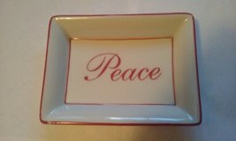 "Peace Tray 5"" x 4"" in Elgin, Illinois"
