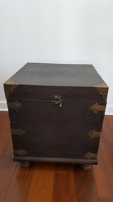 Rustic Asian Storage Chest in Chicago, Illinois