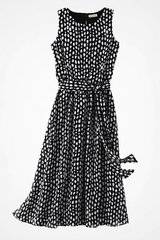 Coldwater Creek Magic Moment Dress Brand New Size 14 Black and White in Glendale Heights, Illinois