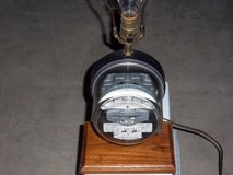 Electric meter lamp in Oswego, Illinois