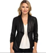 Karen Kane Byzantine Leather Collar Blazer/Jacket in Okinawa, Japan