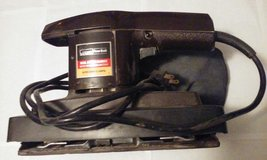 Antique Dual Action Sander w Dust Bag in Elgin, Illinois